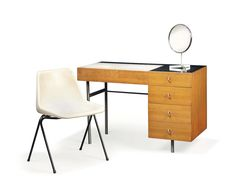 ROBIN DAY (1915-2010) DRESSING CHEST AND 'POLYPROP' CHAIR, DESIGNED 1960 AND 1963