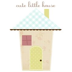 Cute Little House Clip Art