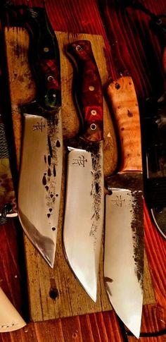 Camp Knife Dark Timber Custom Knives