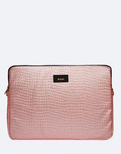 funda-portátil-mermaid-rosa Zip Around Wallet, Bags, Fashion, Pink, Laptop Sleeves, Handbags, Moda, Fashion Styles, Fashion Illustrations
