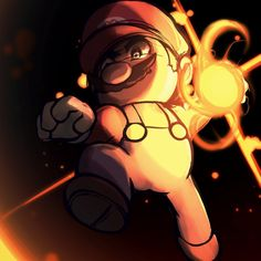 Smash4 Character Countdown #1 : Mario by https://phiphiauthon.deviantart.com on @DeviantArt