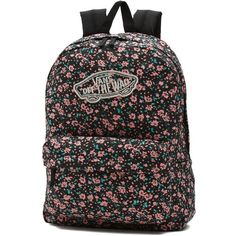 20d3b9747f Vans Realm Backpack ( 38) ❤ liked on Polyvore featuring bags