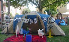 Cotignyork. Accampamento: la tenda dello sciamano