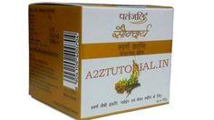 patanjali swarna kanti cream in hindi