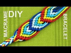 How to Macrame Leaves for a Friendship Bracelet (Nice on Both Sides) « Jewelry :: WonderHowTo