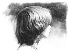 How to draw hair   helpful when doing the first sketch for your sculpt