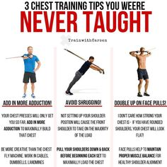 3 chest training tips you were never taught. Best Chest Workout, Chest Workouts, Chest Exercises, Body Workouts, Gym Workout Chart, Gym Workout Tips, Weight Training Workouts, Training Tips, Training Plan