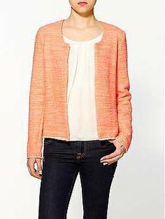 Rory Beca Kamel Knit Tweed Jacket | Piperlime