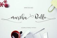 Marsha Belle Script - Fonts