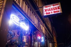 Mary Todd's Workers Bar & Grill in Astoria OR is a classic dive bar