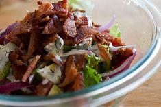 BLT Salad with Avacado