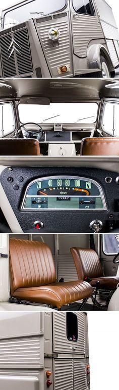 Citroën Type H 1981. Ce Type H est exceptionnel! C'est le dernier à avoir été fabriqué après une carrière débutée en 1947