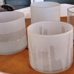 Super easy gift Idea: DIY glass etching