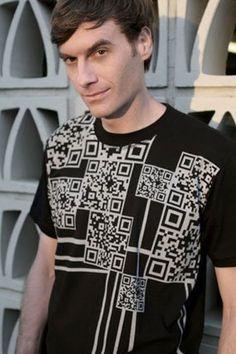 #T-SHIRT QR - QR Code e la moda - Fashion and QR Code