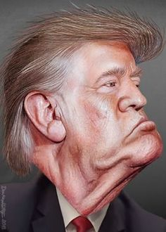 British Writer Pens The Best Description Of Trump I've Read - Red Lake Nation News Nasty People, Stupid People, Donald Trump Karikatur, Regimen Militar, Dr Frankenstein, Pop Art, Plan Maestro, Rich Boy, Jabba The Hutt