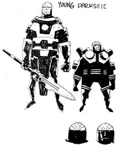 NEW GODS - Mike Mignola concept art - Album on Imgur