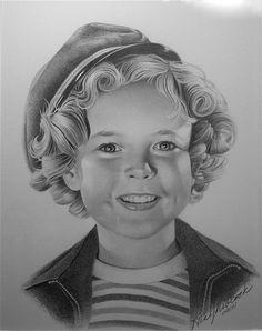 Shirley Temple by Rita Niblock on ARTwanted