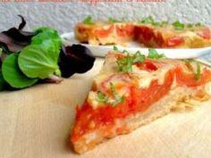 Tarte Tatin Tomates, Mozzarella & Basilic