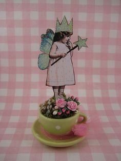 Teacup Fairy~Make a Wish | Flickr - Photo Sharing!