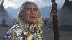 "The great Chief Dan George in ""Little Big Man""."