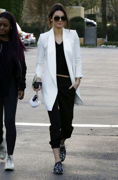 Image result for kendall jenner winter street style