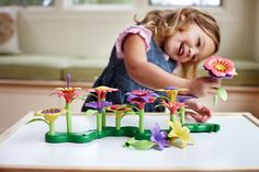 Toy Learning Game Educational Earth Friendly Girls & Boys Multi-coloured Flowers