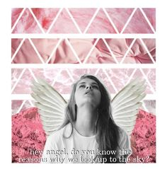 """""""❥hey angel, do you know the reasons why we look up to the sky?❥"""" by stitched-together-with-a-smile on Polyvore featuring art, OneDirection, Pink, artset, artexpression and kaitlynart"""