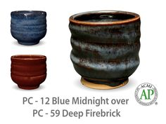 Deep Firebrick is an opaque, speckled brick red glaze that breaks translucent where thin. This bold, dark red glaze has a strong presence and layers well under or over other Potter's Choice glazes.   Due to the powdered nature of the materials involved with the dry-mix dipping buckets of this product, their respective health information and labels differ from the brushing glazes.