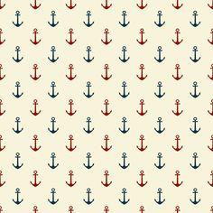 Sweet nautical digital pattern set from parasoldigital.com. Free!