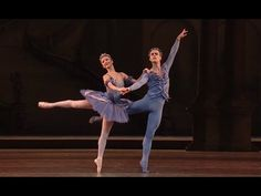 The Sleeping Beauty - Act III : Bluebird and Princess Florine pas de deux closing section (Alexander Campbell and Yuhui Choe) ©ROH, 2011