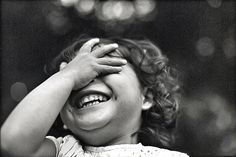 A child's laughter, so beautiful!