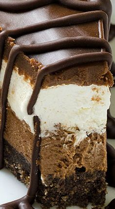 No Bake Desserts, Just Desserts, Delicious Desserts, Dessert Recipes, Yummy Food, Holiday Desserts, Healthy Desserts, Healthy Recipes, Food Cakes
