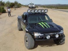 Monster Energy prerunner