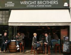 Enjoyed lunch here today! Wright Brothers Oyster & Porter House.   Fresh caught seafood elegantly paired with a curated porter and wine selection. Borough Market, London, UK.