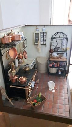 me ~ miniature kitchen