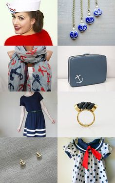 Nautical Fashion; more patriotic dress ideas