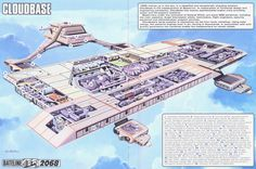Captain Scarlet Cloudbase by ArthurTwosheds.deviantart.com on @DeviantArt