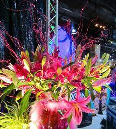 Flower Art Philly Flower show 2012.  MsCarlaGioVa.