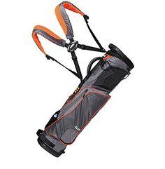 Wellzher T E Sunday V2 Golf Carry Bag Grey Orange Http