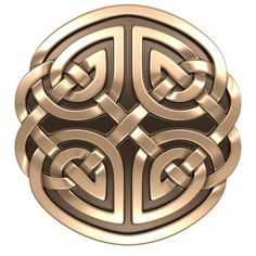 This is a Celtic shield. It signifies strength and bravery. It is the symbol of a Warrior...like you.