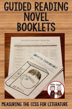 We have created standards based guided reading novel booklets to use with any novel. These 12 page novel booklets are easy to assess for the CCSS. Reading Lessons, Reading Strategies, Reading Skills, Teaching Reading, Guided Reading, Reading Comprehension, Close Reading, Learning, 6th Grade Reading