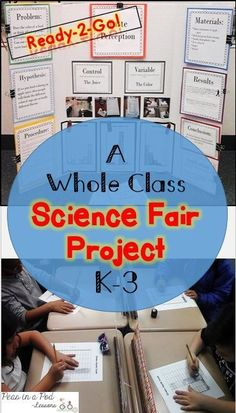 This Science Fair Resource provides a ready-to-go ~ whole class ~ taste perception science fair project! You can used the pre-typed posters for your science fair board or have the kids fill in the blank lined versions depending on your timeline. Different