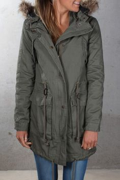 All About Eve - Jagged Parka Khaki