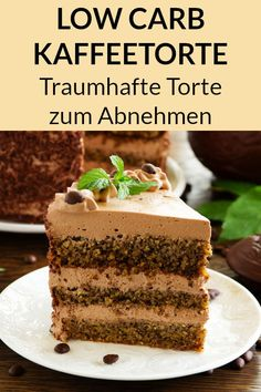 Low carb coffee cake without sugar - fantastic recipe- Low Carb Kaffeetorte ohne Zucker – Traumhaftes Rezept This low carb cake is sugar free and perfect for losing weight. Here you will find the recipe without sugar, which is also gluten-free. Café Low Carb, Low Carb Torte, Fall Desserts, Low Carb Desserts, Low Carb Recipes, Berry Smoothie Recipe, Easy Smoothie Recipes, Homemade Frappuccino, Grilled Fruit
