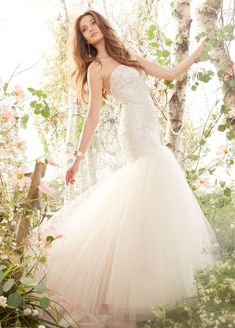 Bridal Gowns, Wedding Dresses by Jim Hjelm - Style jh8416