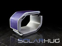 Give your phone the solar energy boost while making a call or texting. Use SolarHug bracelet also like the USB flash drive.