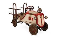 1930s Fire Truck Pedal Car on OneKingsLane.com
