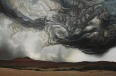 Intense Acrylic Storm Paintings Portray the Power of Nature - My Modern Metropolis
