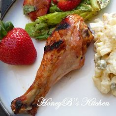 The Life & Loves of Grumpy's Honeybunch: Apricot-Glazed Grilled Chicken Chicken Recipes At Home, Turkey Recipes, Beef Recipes, Vegetarian Recipes, Cooking Recipes, Turkey Meals, Barbecue Recipes, Grilling Recipes, Slow Cooker Recipes
