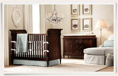Doesn't this look opulent? What a beautiful space for a boy. Rooms | Restoration Hardware Baby & Child